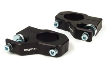 BGM - Front Shock Absorber Mount Black