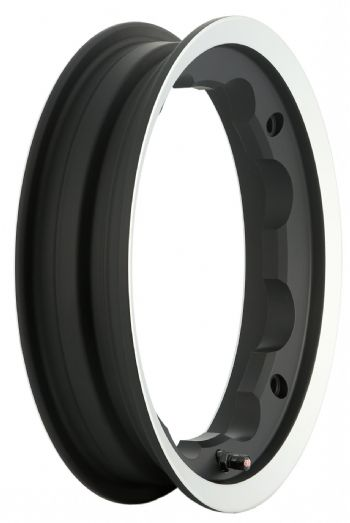 Tubeless Rim-matt black/polish edge